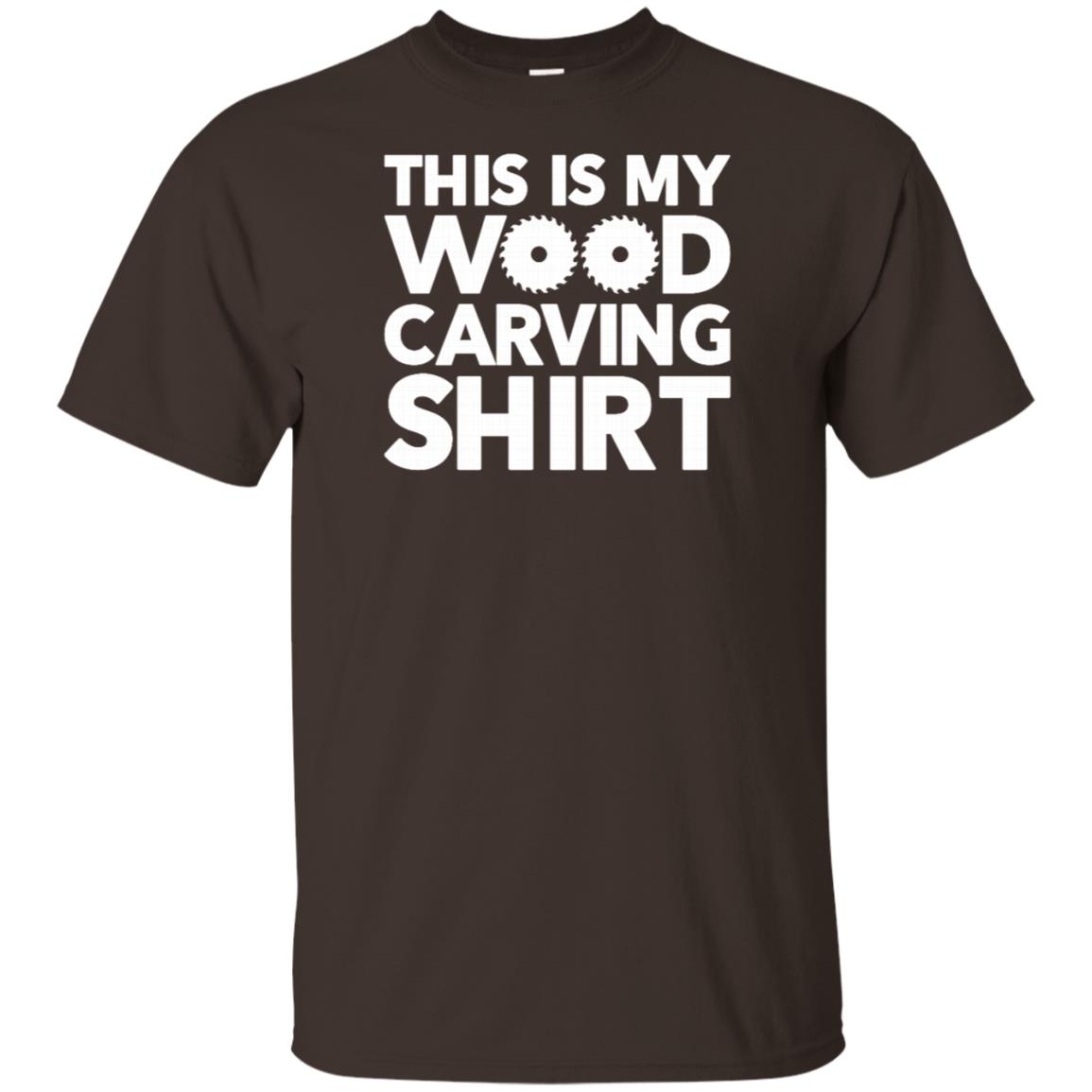 This is My Wood Carving Carpenter Unisex Short Sleeve