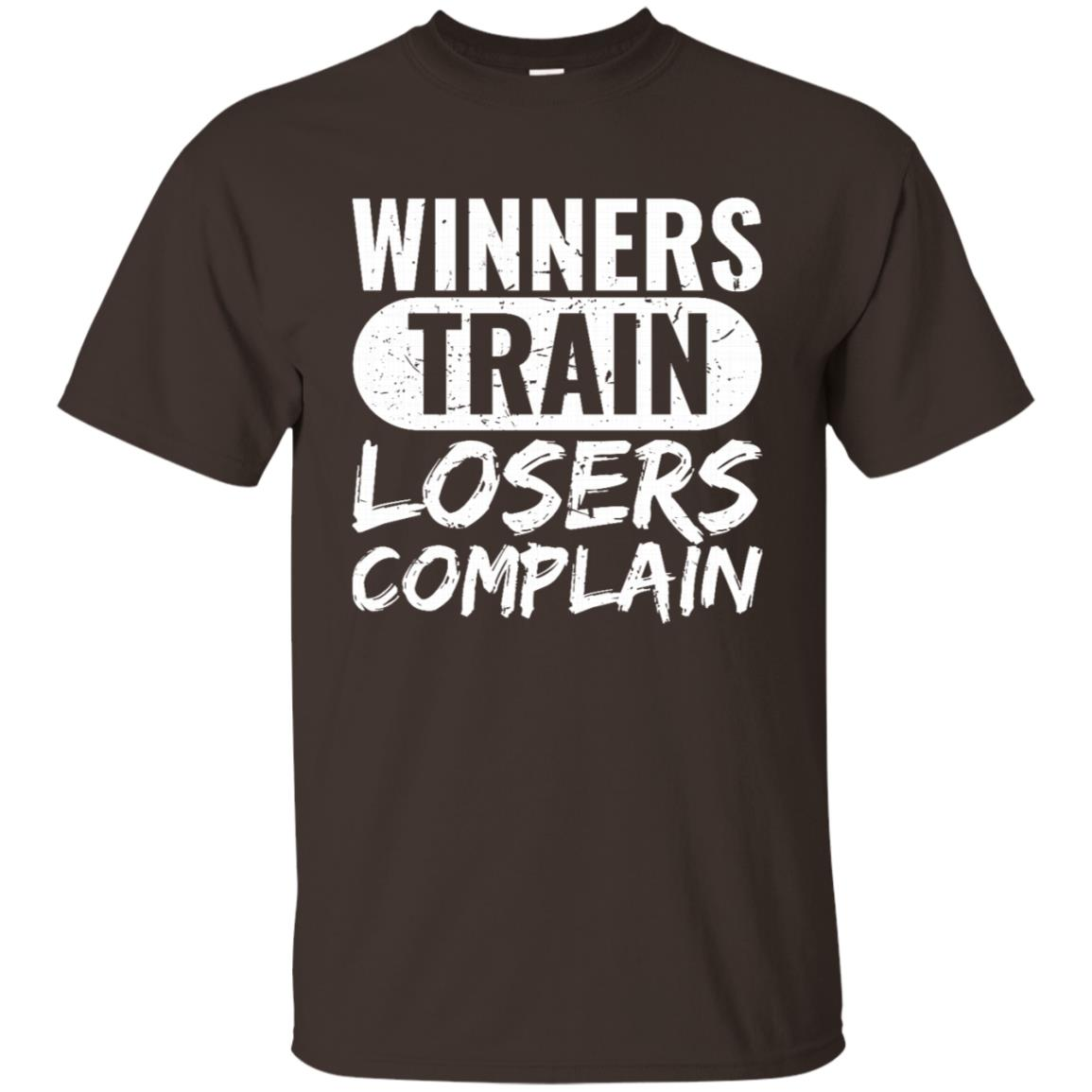 Winners Train Losers Complain Workout Training Unisex Short Sleeve