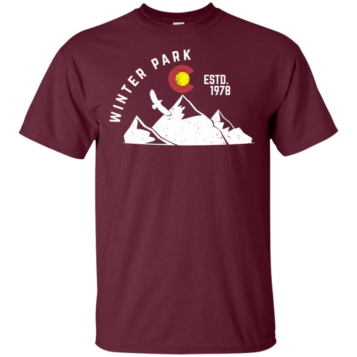 Winter Park Estd 1978 Colorado Vacation Unisex Short Sleeve