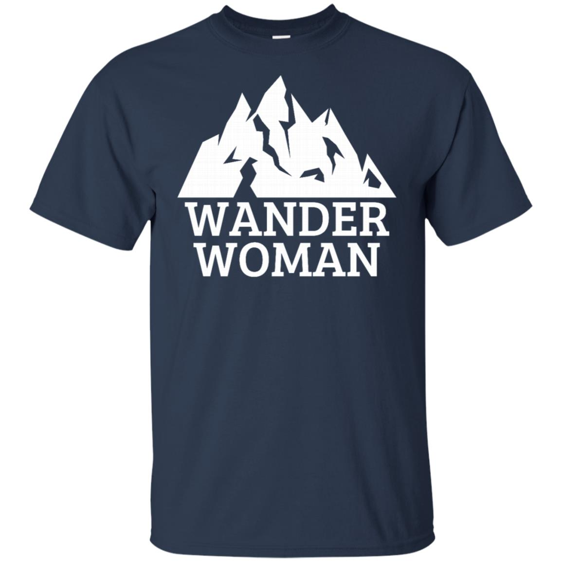 Wander Woman for Women Who Like To Travel Unisex Short Sleeve