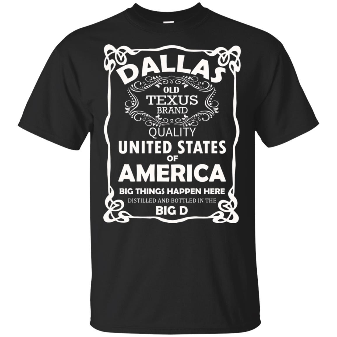 Dallas Texas Texans Big D Unisex Short Sleeve