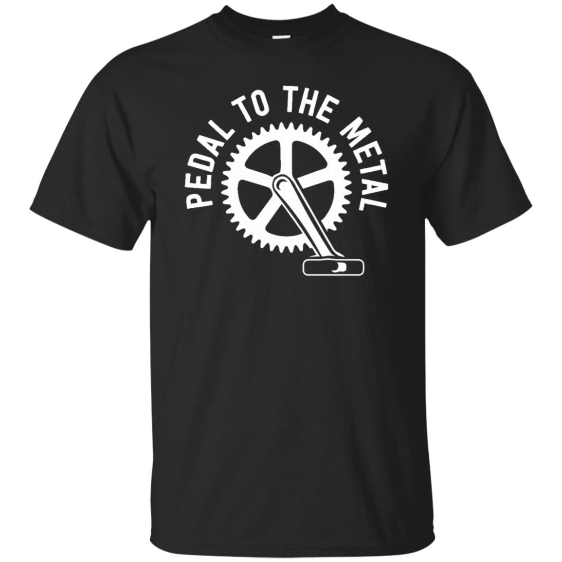 Cycling Mountain Bike – Pedal To The Metal Unisex Short Sleeve