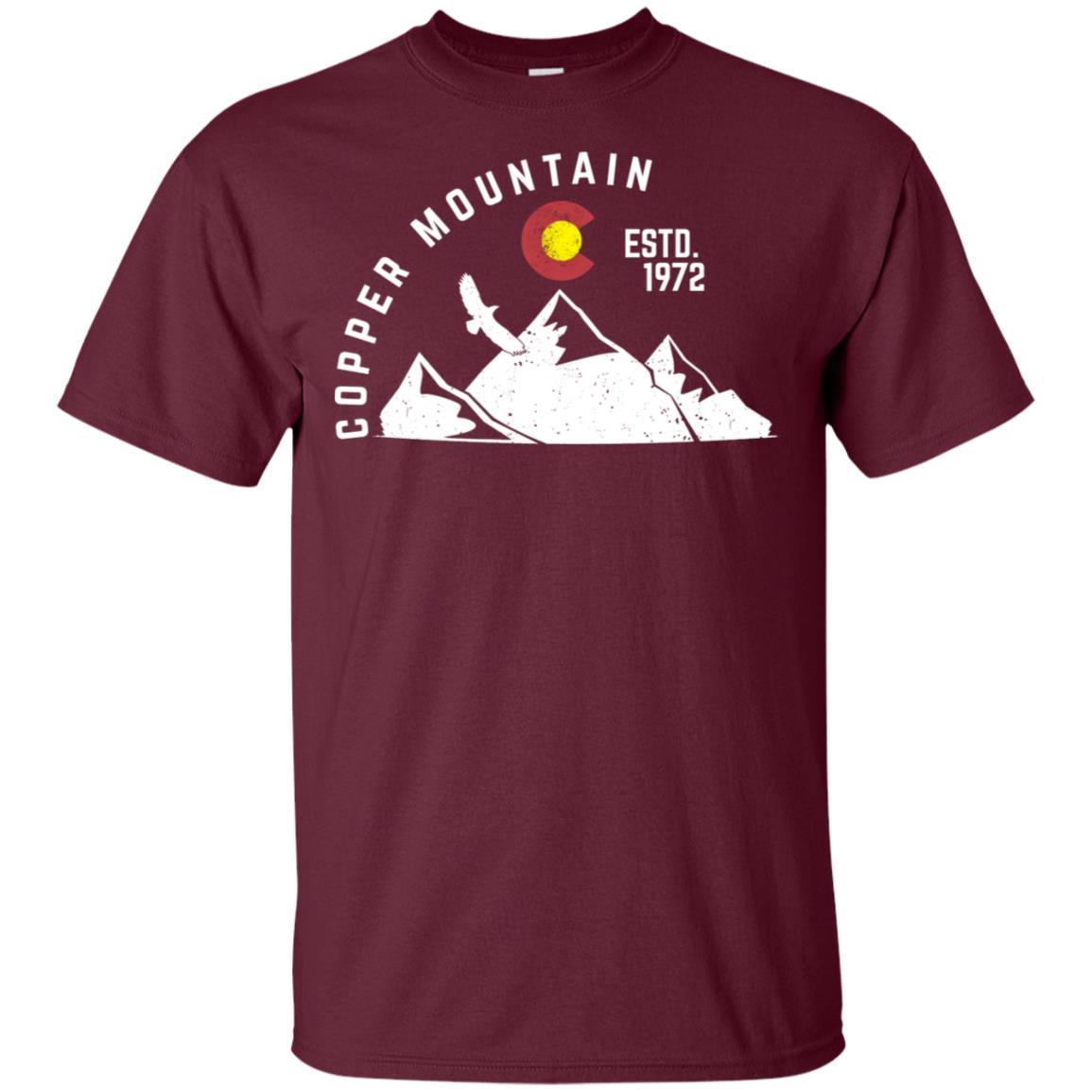 Copper Mountain Estd 1972 Colorado Unisex Short Sleeve