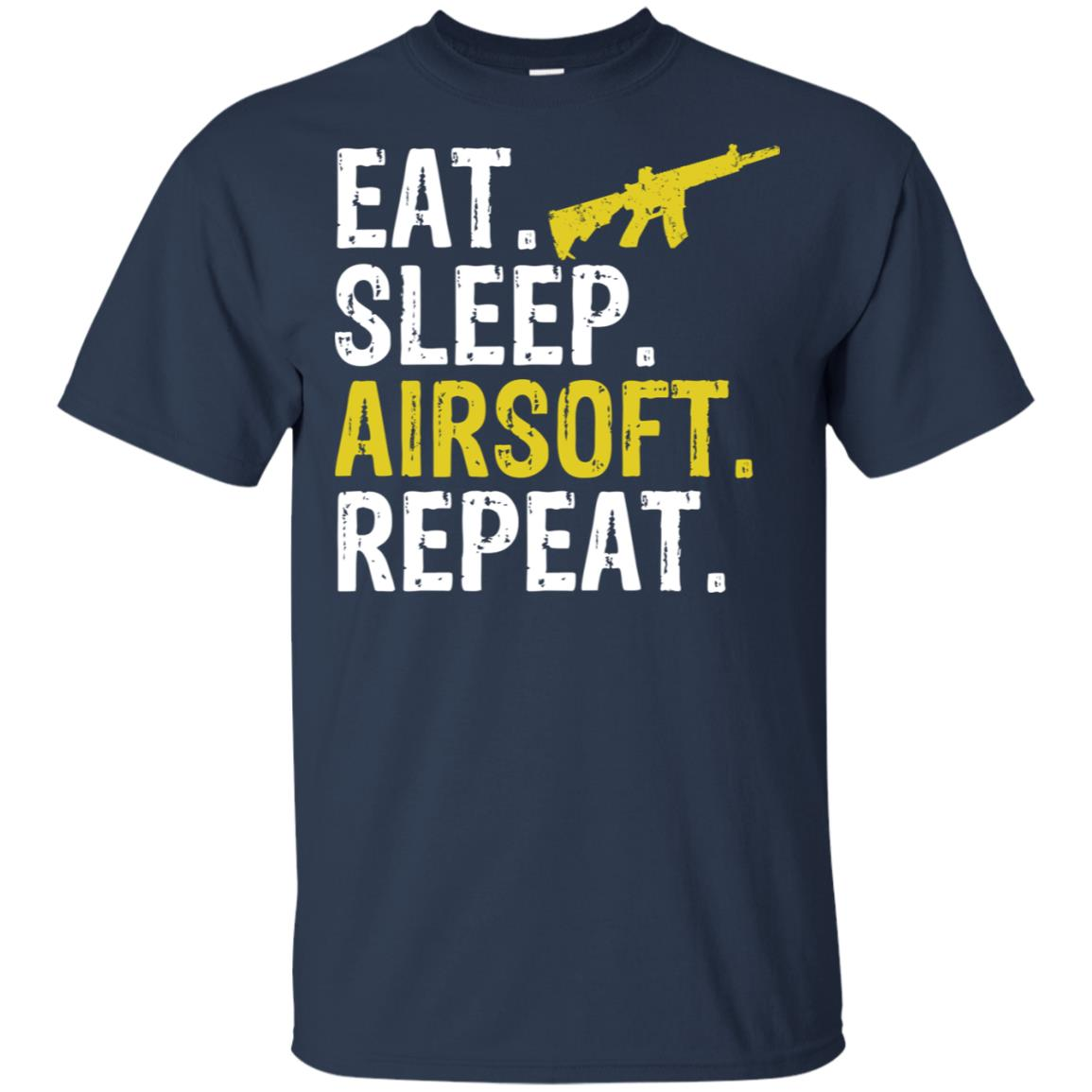 Eat Sleep Airsoft Repeat Sports Gift-1 Unisex Short Sleeve