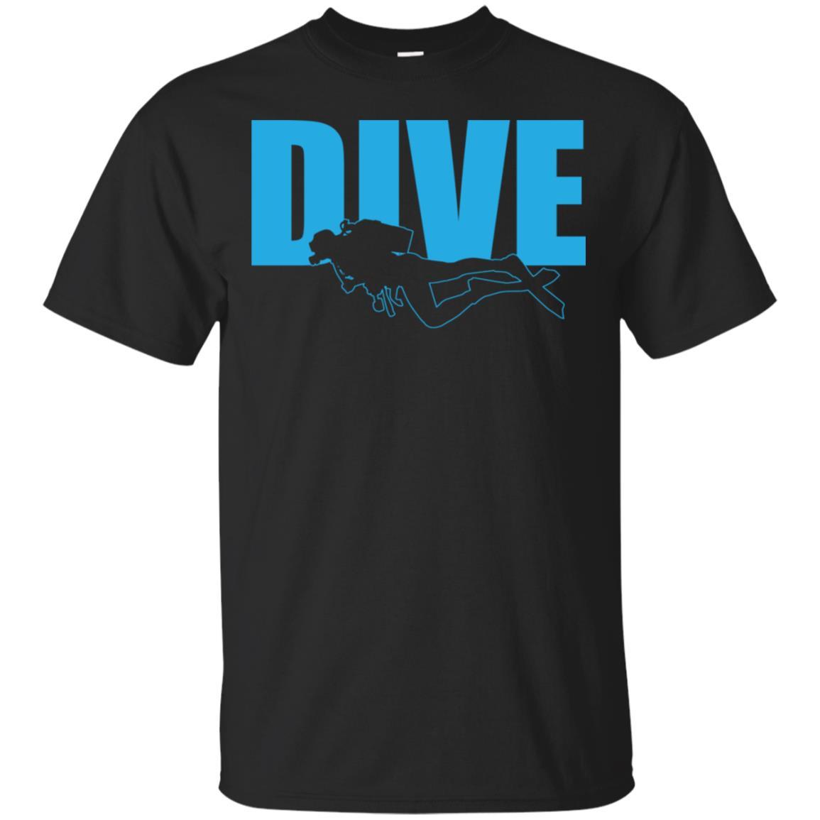 Dive Scuba Diving Ocean Exploration Unisex Short Sleeve