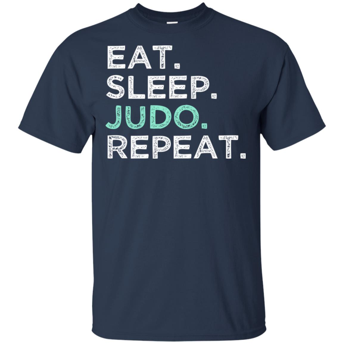 Eat Sleep Judo Repeat. Karate Defense Judo Unisex Short Sleeve
