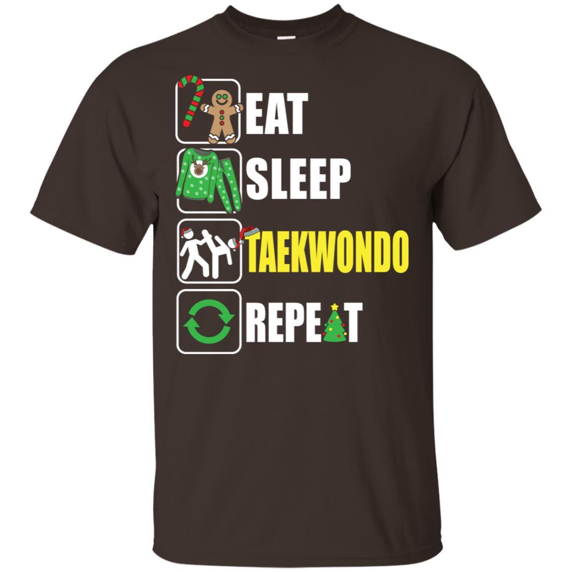 Eat Sleep Taekwondo Repeat Taekwondo Lover Unisex Short Sleeve