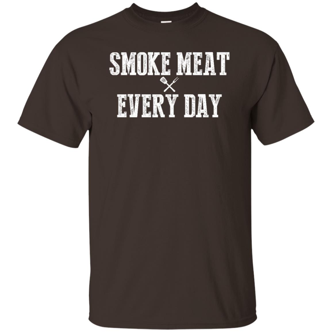 Funny Grilling s Bbq Smoking Meat Smoker Every Day Unisex Short Sleeve