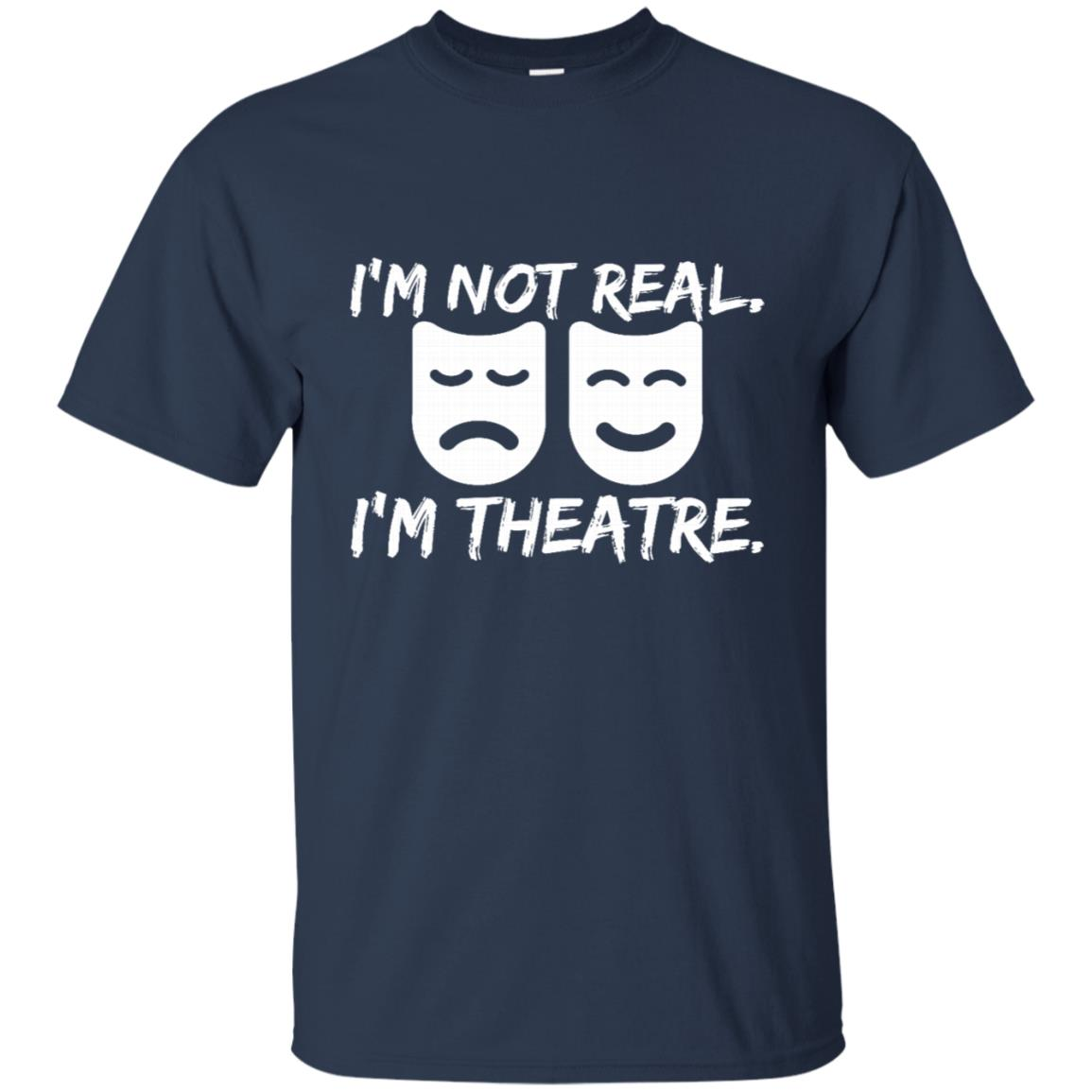 Fun Theatre Masks Gift for Actor Producer Director Unisex Short Sleeve