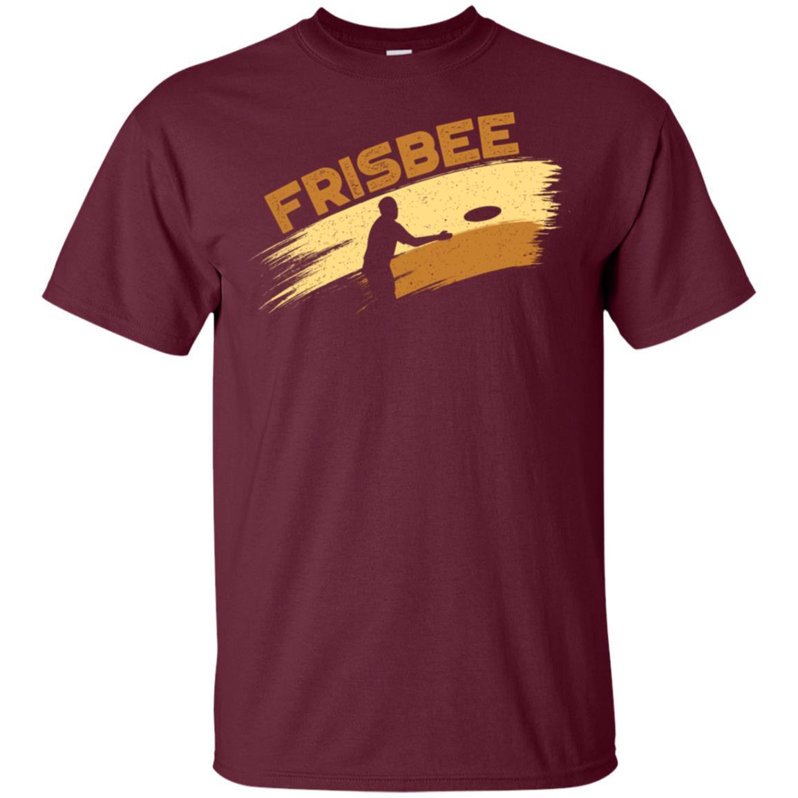 Frisbee Silhouette Unisex Short Sleeve