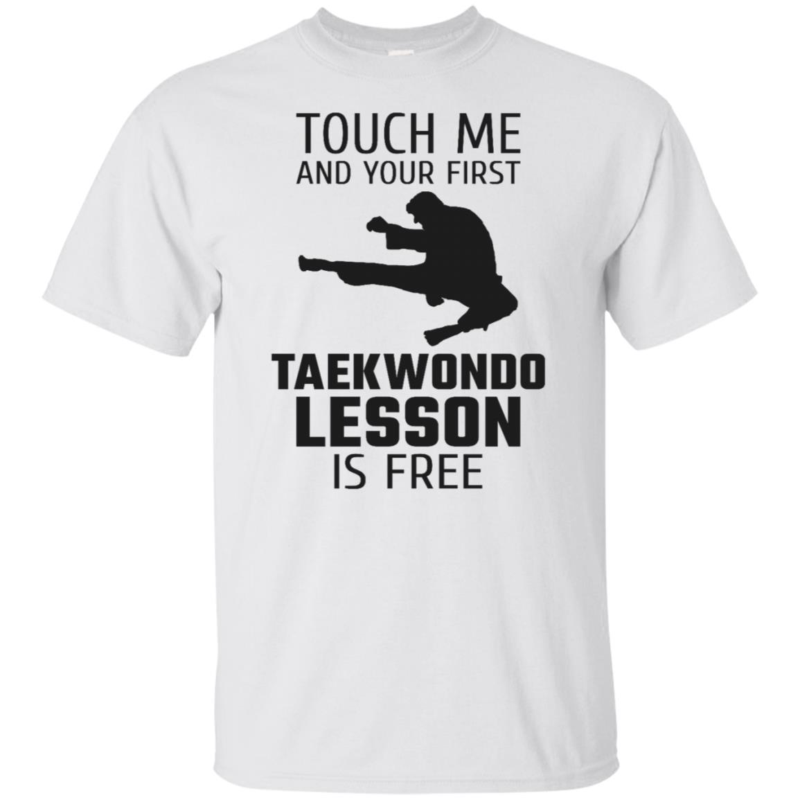 Touch Me And Your First Taekwondo Lesson Is Free Ls Unisex Short Sleeve