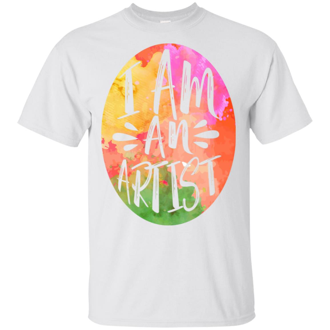 Colorful I Arted for Kids and Teachers Unisex Short Sleeve