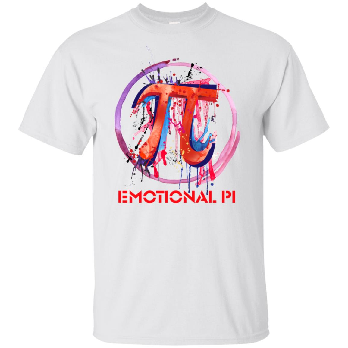 Emotional Pi, Drip Art-1 Unisex Short Sleeve