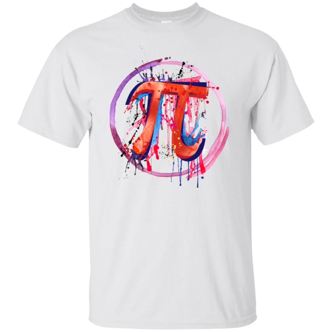 Emotional Pi, Drip Art Unisex Short Sleeve