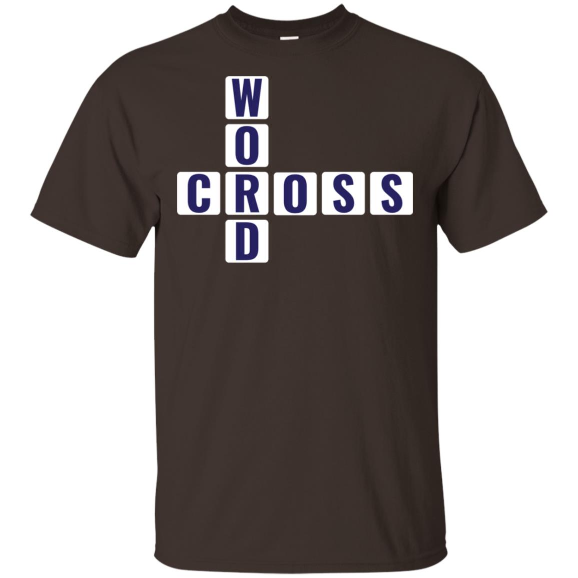 Funny Crossword Champion Word Game Enthusiast Unisex Short Sleeve