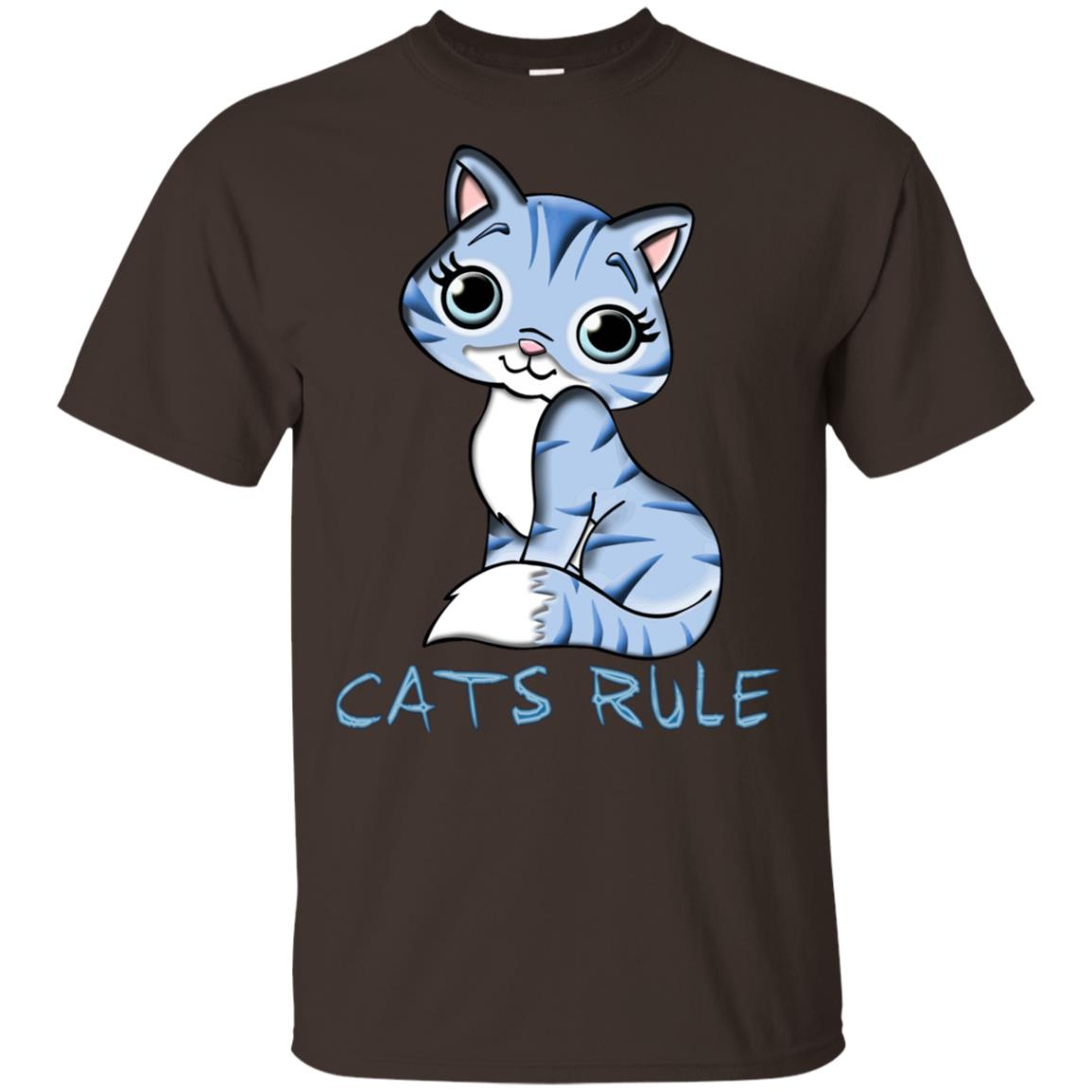 Cute Cats Rule Sweats s gifts Unisex Short Sleeve