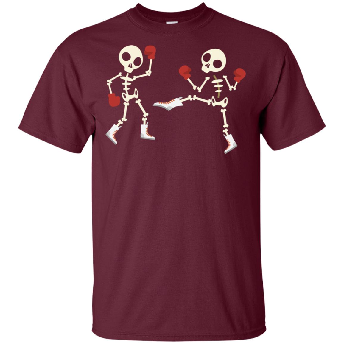 Cute Bone Kickbox – For Cool Men And Women With Humors Unisex Short Sleeve
