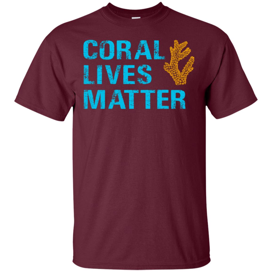 Coral Lives Matter Saltwater Aquarium Unisex Short Sleeve
