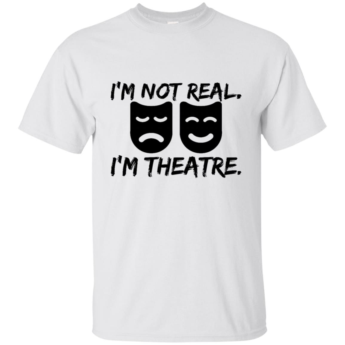 Funny Theatre Masks for Actor Producer Director Unisex Short Sleeve