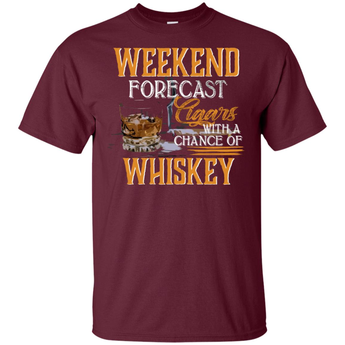 Weekend Whiskey Tee for young Unisex Short Sleeve