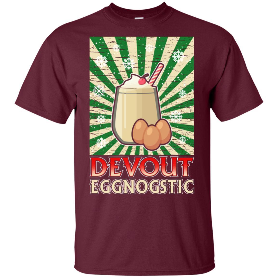 Vintage Eggnog christmas tee gift idea Unisex Short Sleeve