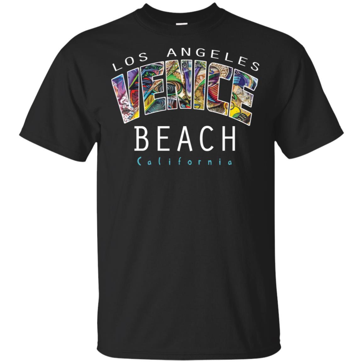 Venice Beach Graffiti Art La California Unisex Short Sleeve