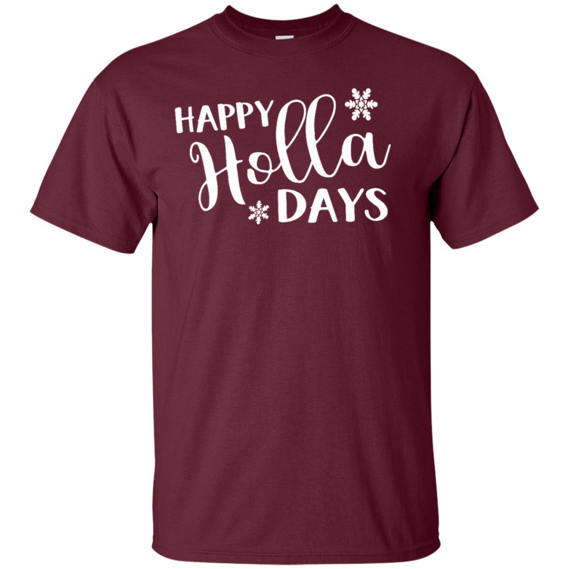 Happy Holla Days Unisex Short Sleeve