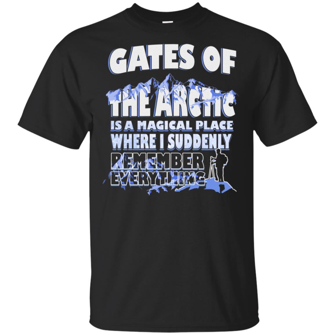 Gates Of The Arctic Magical Place Remember Unisex Short Sleeve