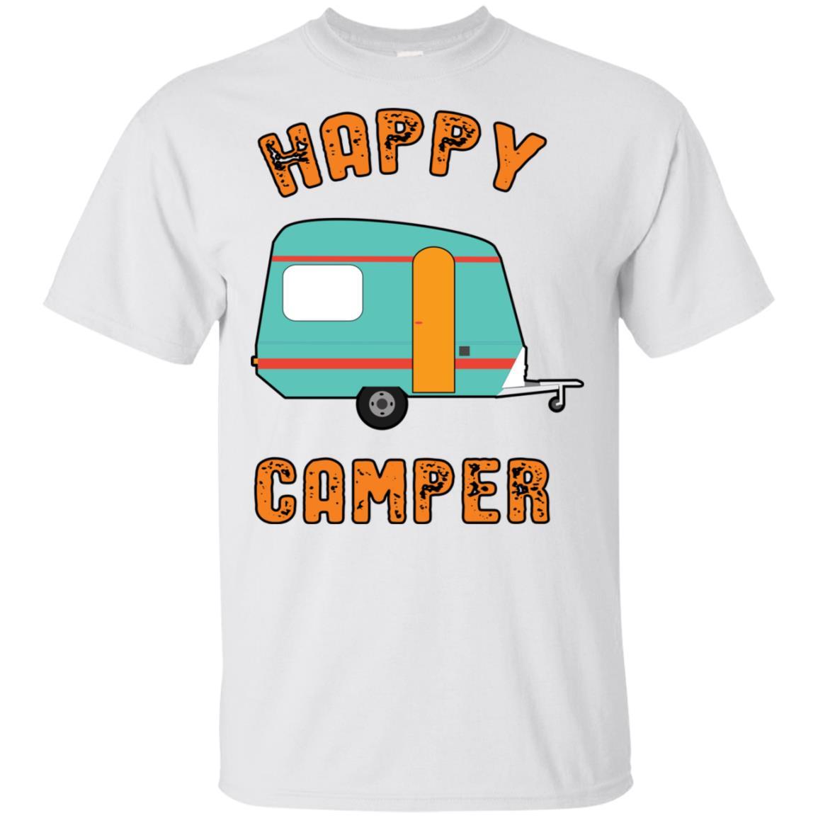 Happy Camper Unisex Short Sleeve