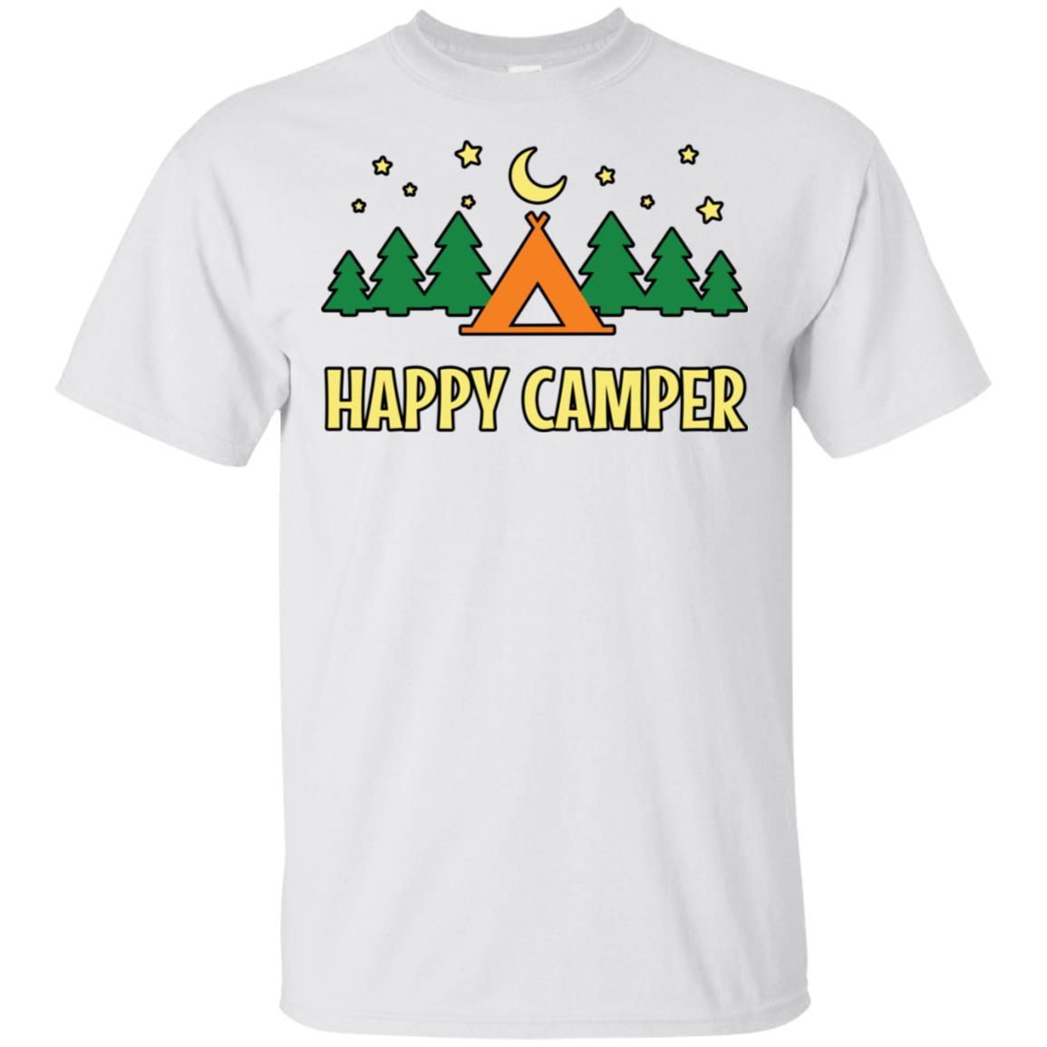 Happy Camper 3 Unisex Short Sleeve