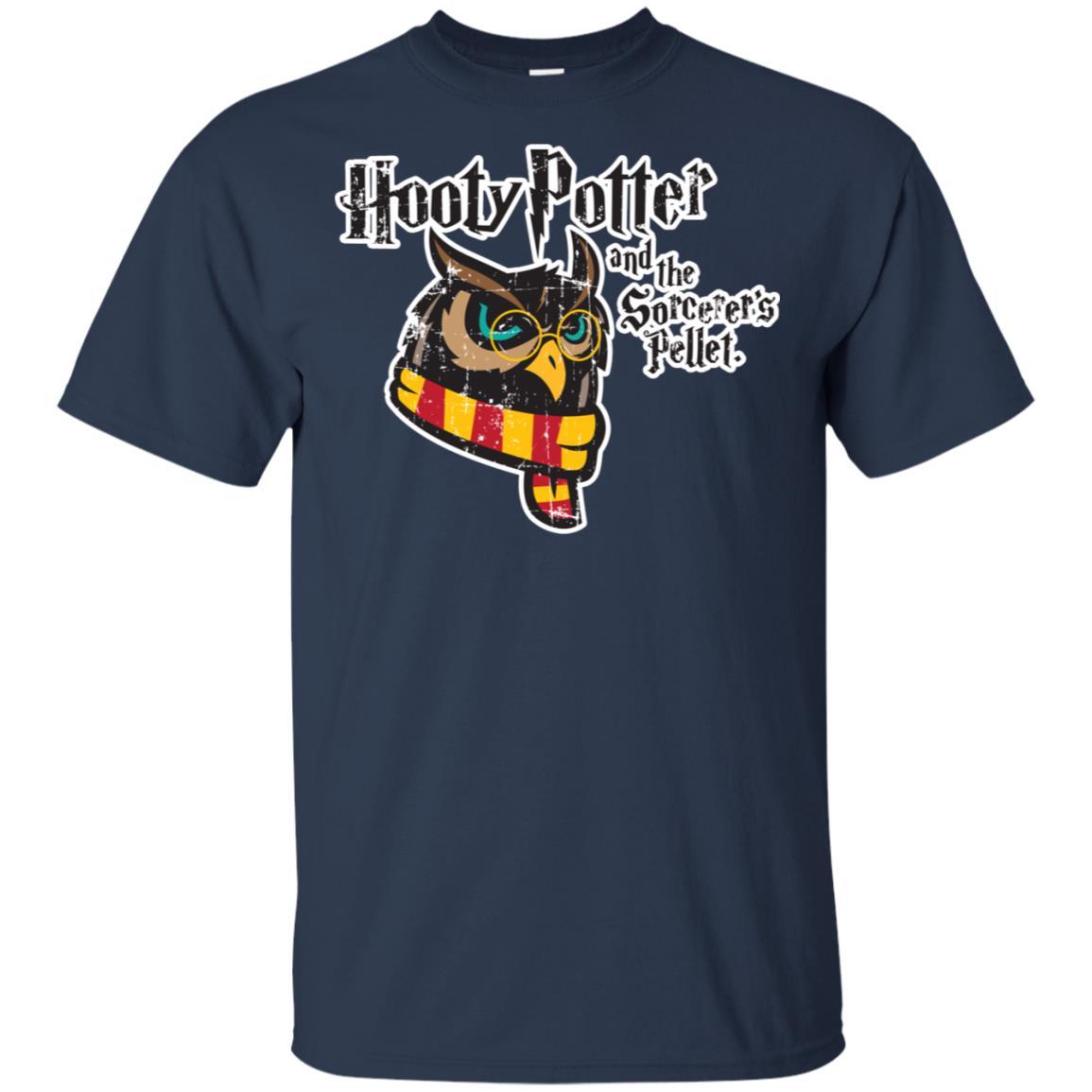 Hooty Potter Owl Unisex Short Sleeve