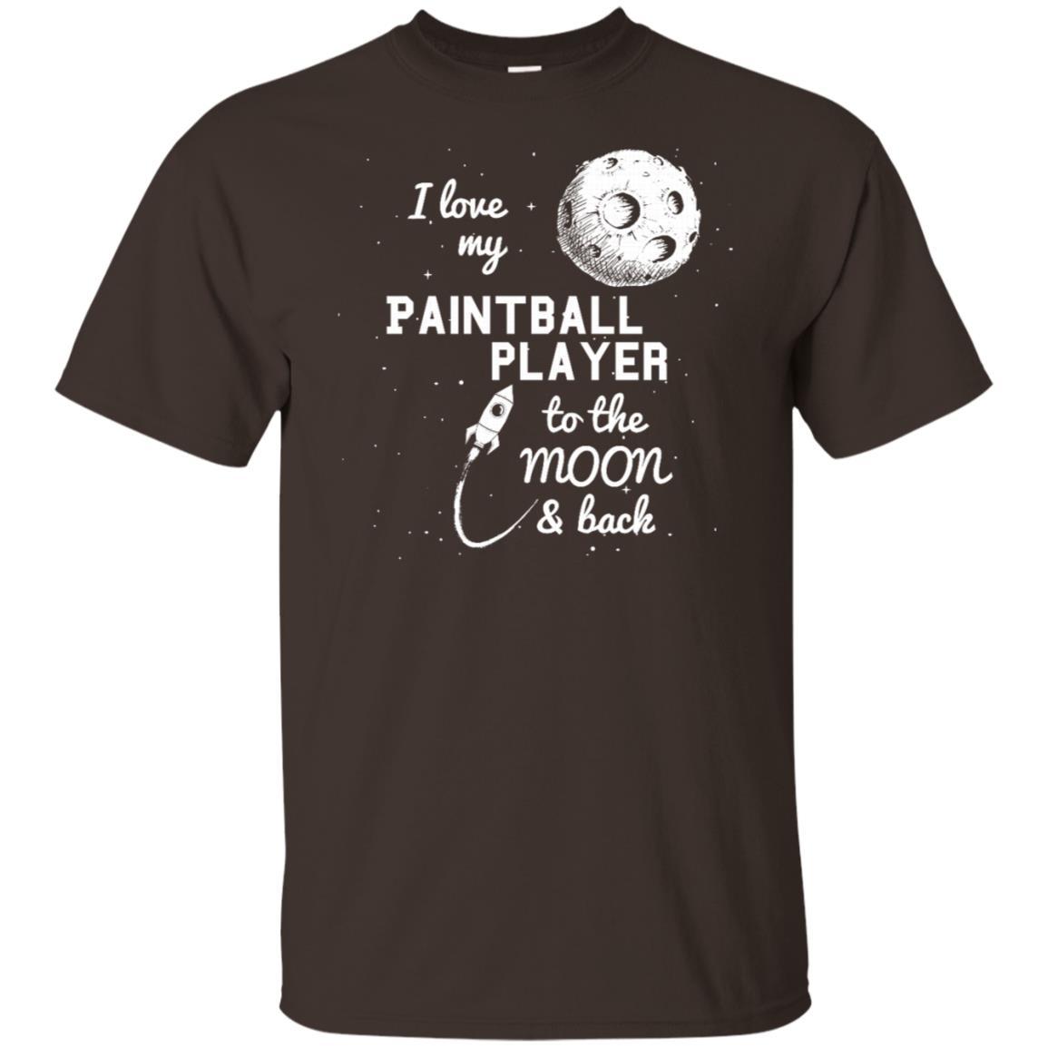I Love My Paintball Player Unisex Short Sleeve