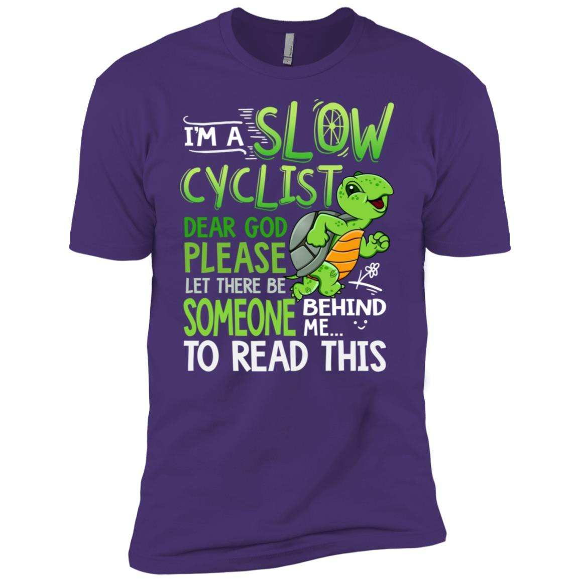 I'm a slow cyclist dear god please let there be Men Short Sleeve