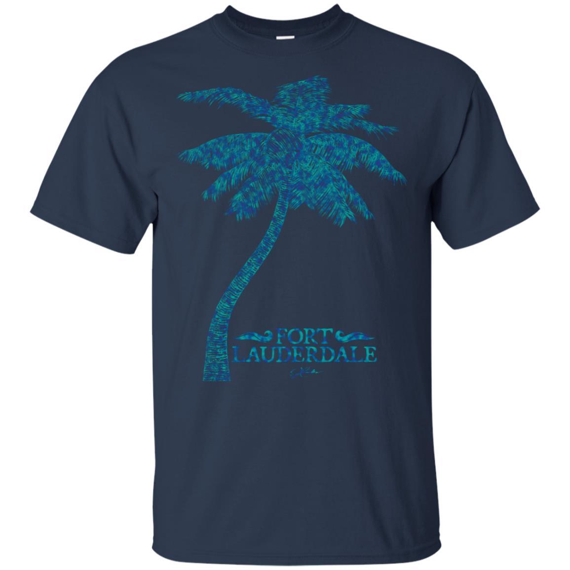 JCombs Fort Lauderdale, Fl, Palm Tree Unisex Short Sleeve