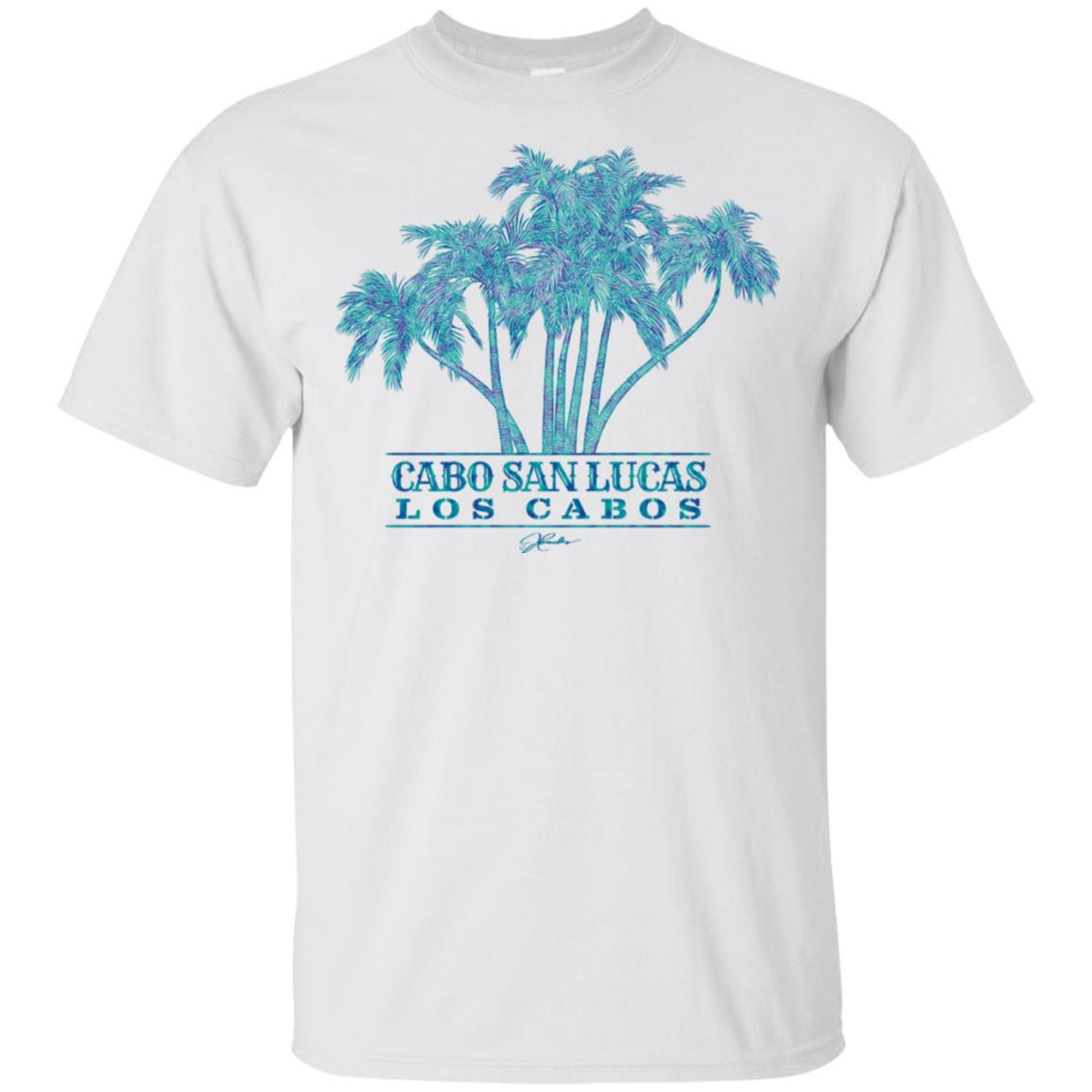 JCombs Cabo San Lucas, Los Cabos, Palm Trees Unisex Short Sleeve