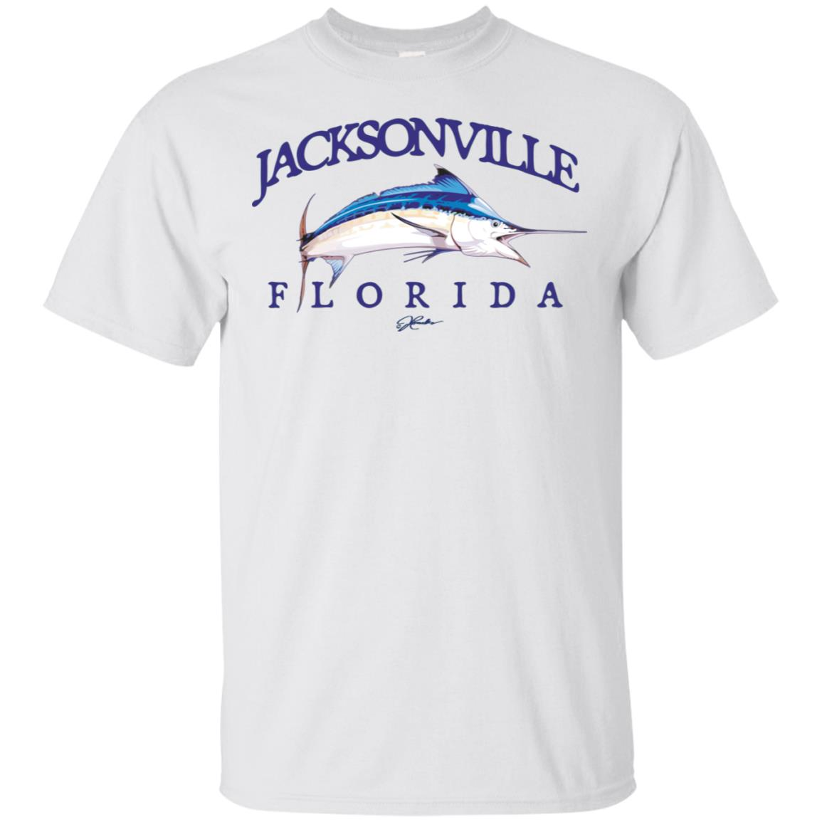 JCombs Jacksonville, Fl, Blue Marlin Unisex Short Sleeve