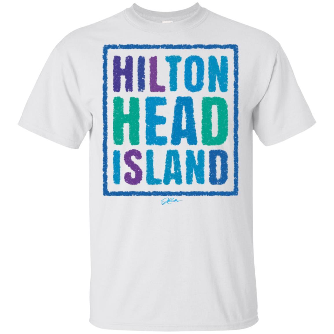 JCombs Hilton Head Island, Sc, Sidewalk Chalk Unisex Short Sleeve