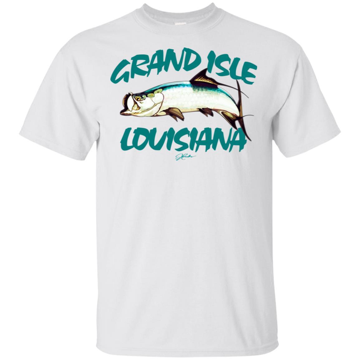 JCombs Grand Isle, La, Tarpon Unisex Short Sleeve