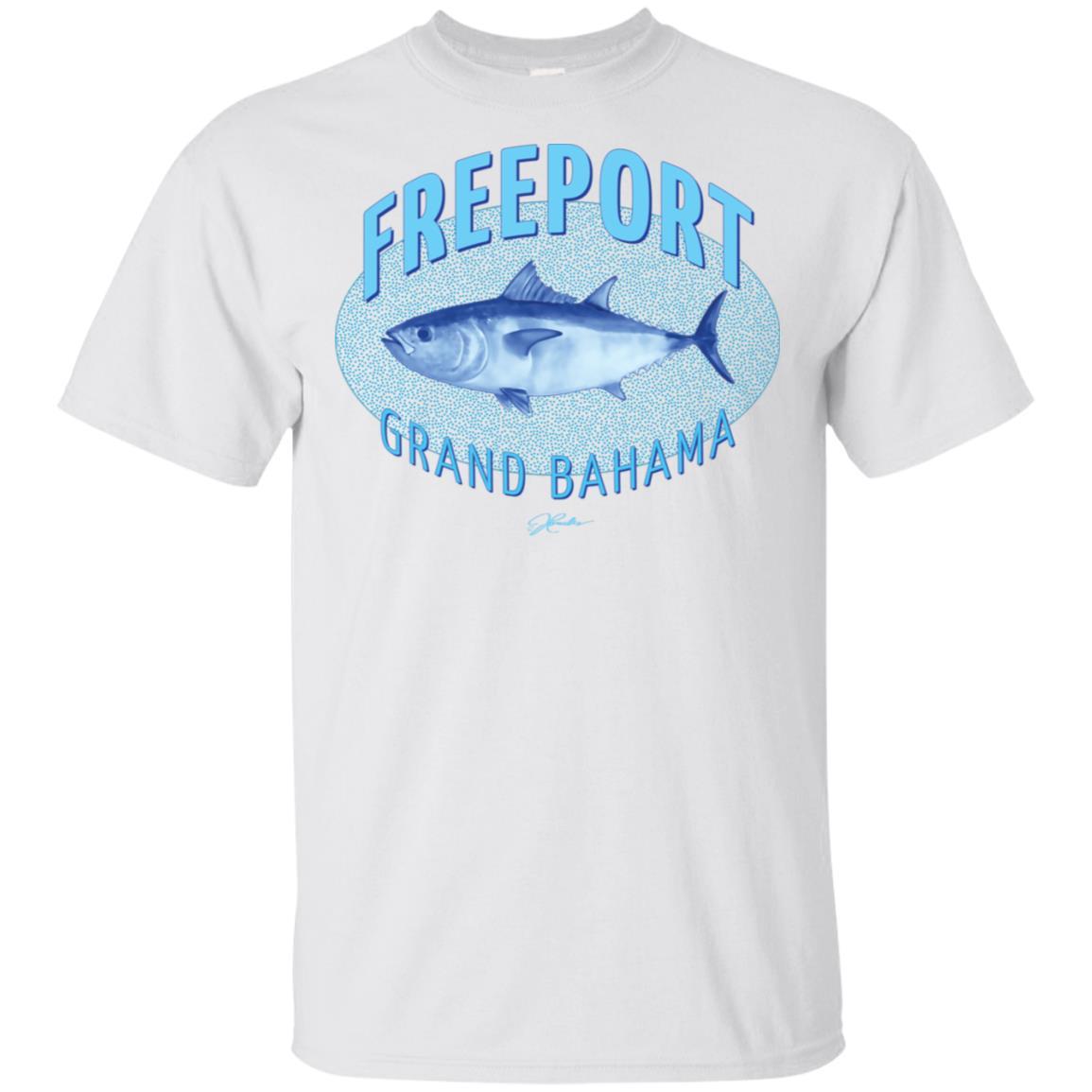 JCombs Freeport, Grand Bahama, Bluefin Tuna Unisex Short Sleeve