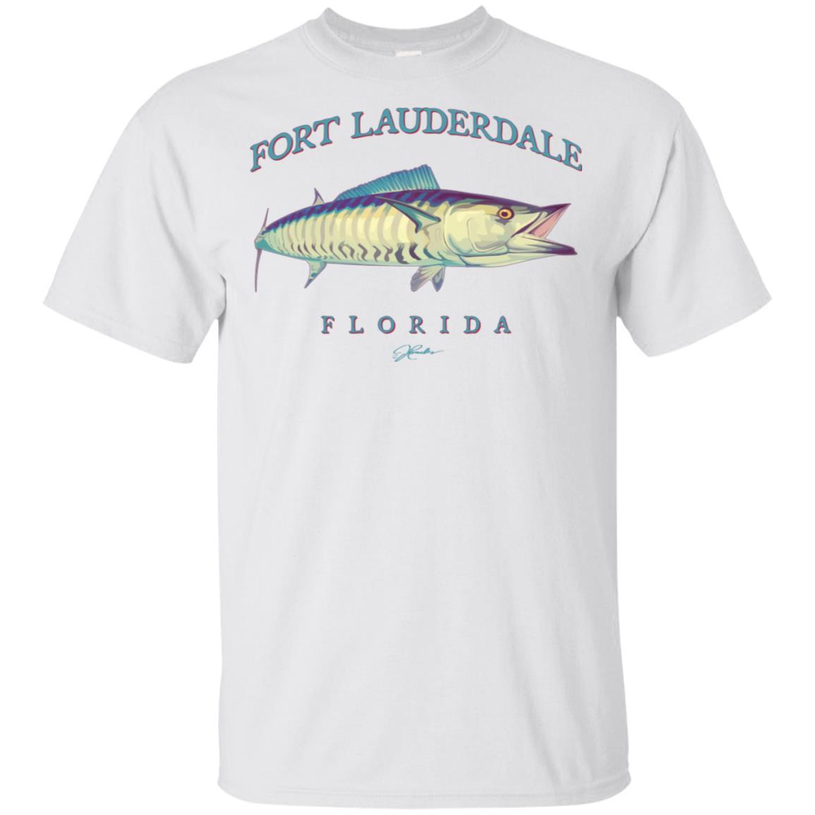 JCombs Fort Lauderdale, Fl, Wahoo Unisex Short Sleeve