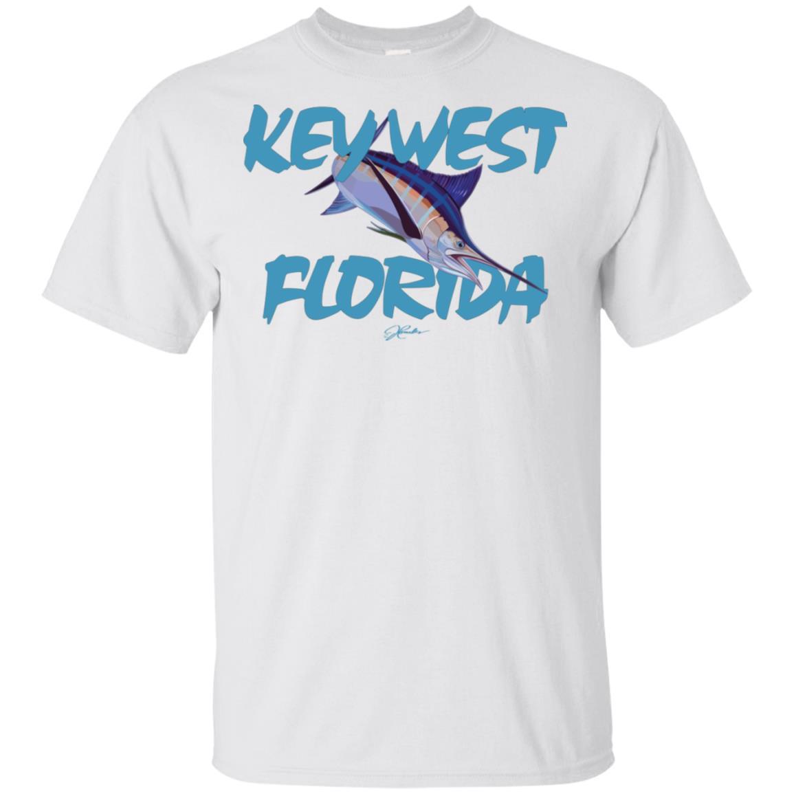 JCombs Key West, Fl, Blue Marlin Unisex Short Sleeve