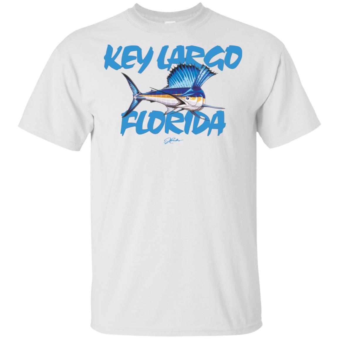 JCombs Key Largo, Fl, Sailfish Unisex Short Sleeve