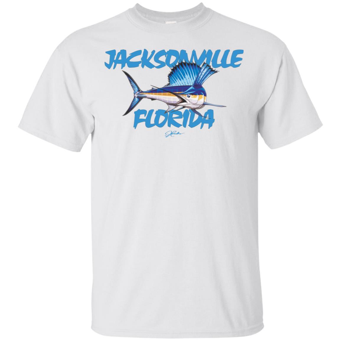 JCombs Jacksonville, Fl, Sailfish Unisex Short Sleeve