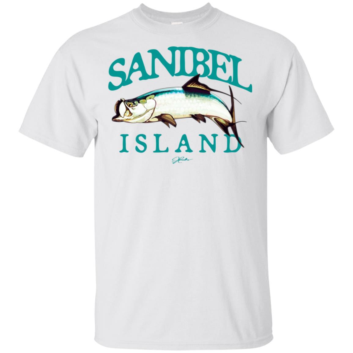 JCombs Sanibel Island, Fl, Tarpon Unisex Short Sleeve