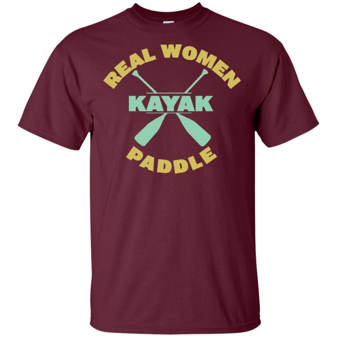 Kayak – Real Women Paddle – Canoeing Unisex Short Sleeve