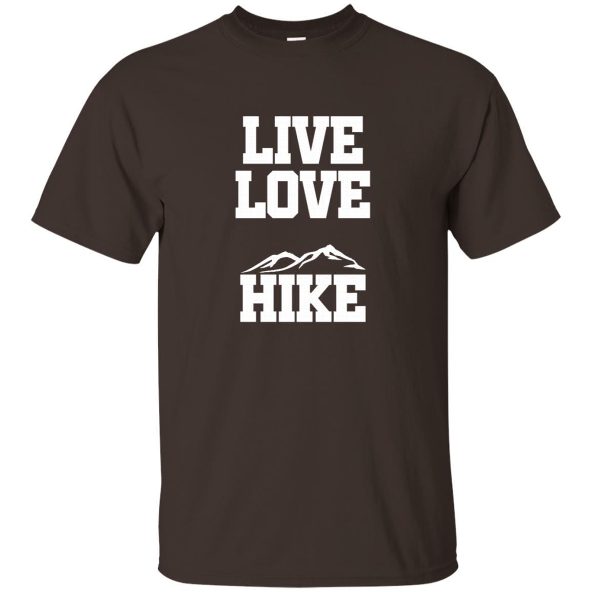 Live Love Hike – Mountain Climbing Unisex Short Sleeve
