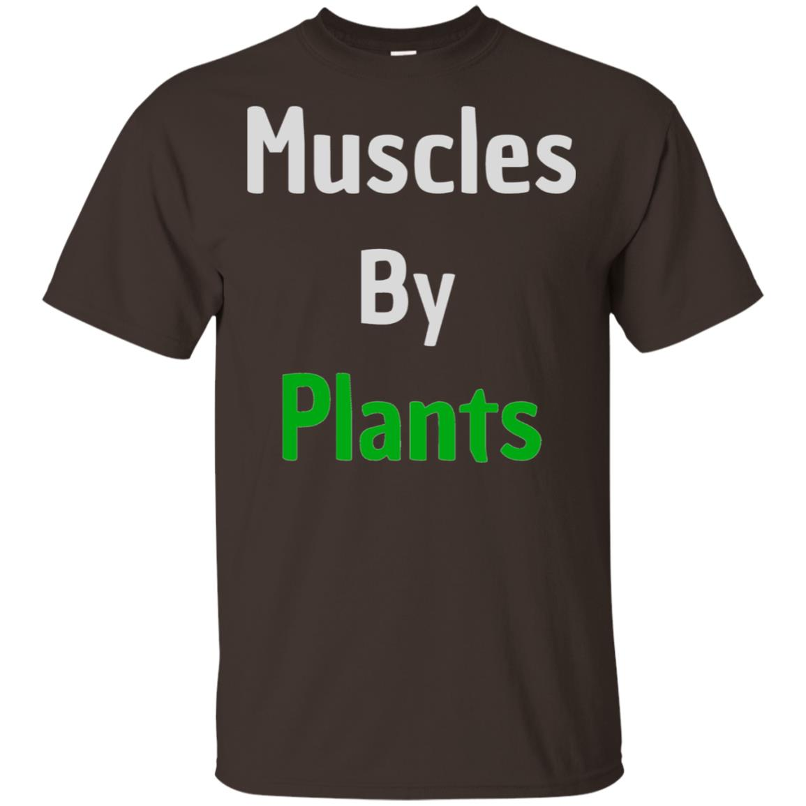 Muscles by Plants Workout Plant Powered Unisex Short Sleeve