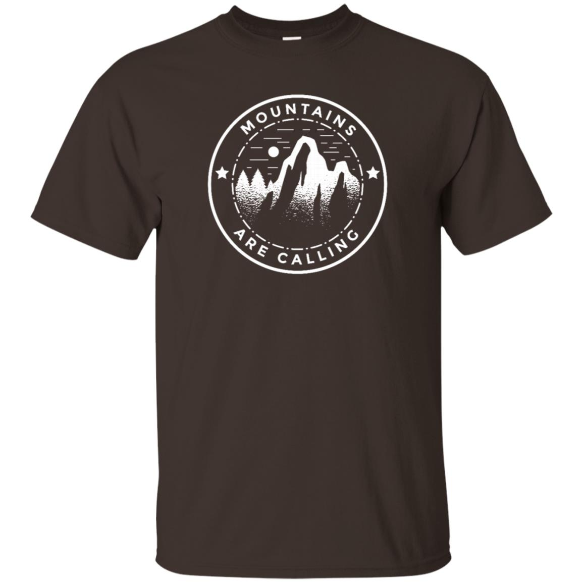 Mountains Are Calling Graphic Adventure Unisex Short Sleeve