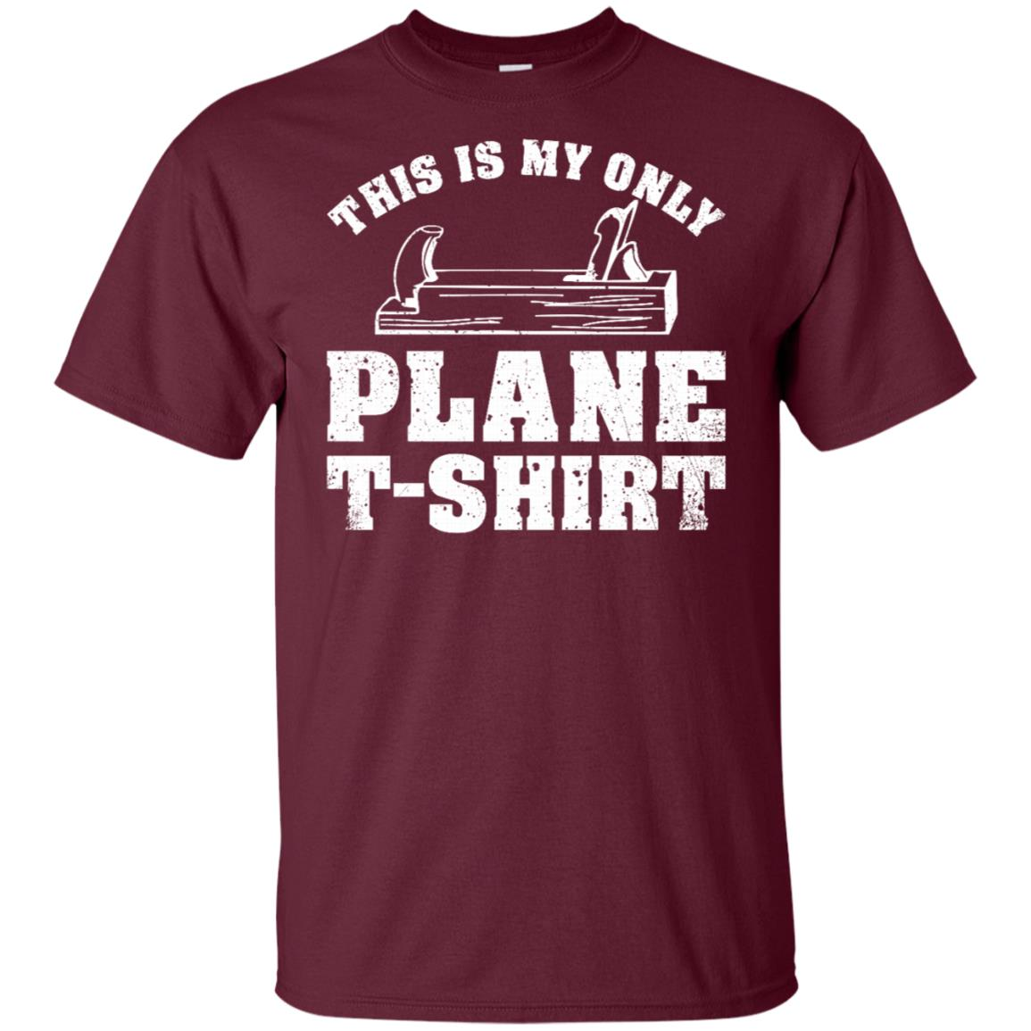Plane Funny Woodworking Pun Woodworker Gift Unisex Short Sleeve