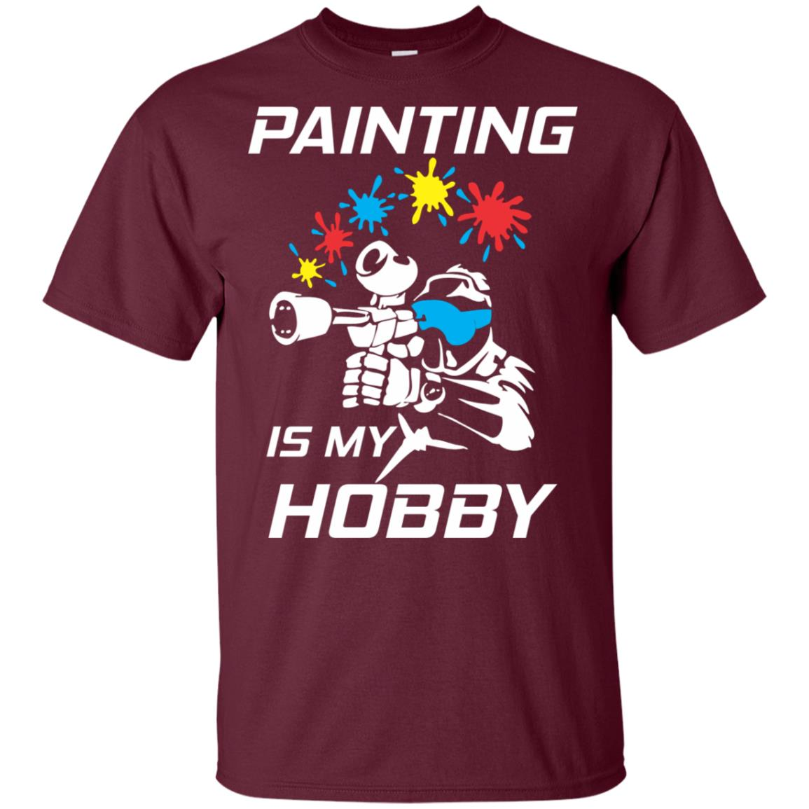 Painting Is My Hobby Paintball Unisex Short Sleeve